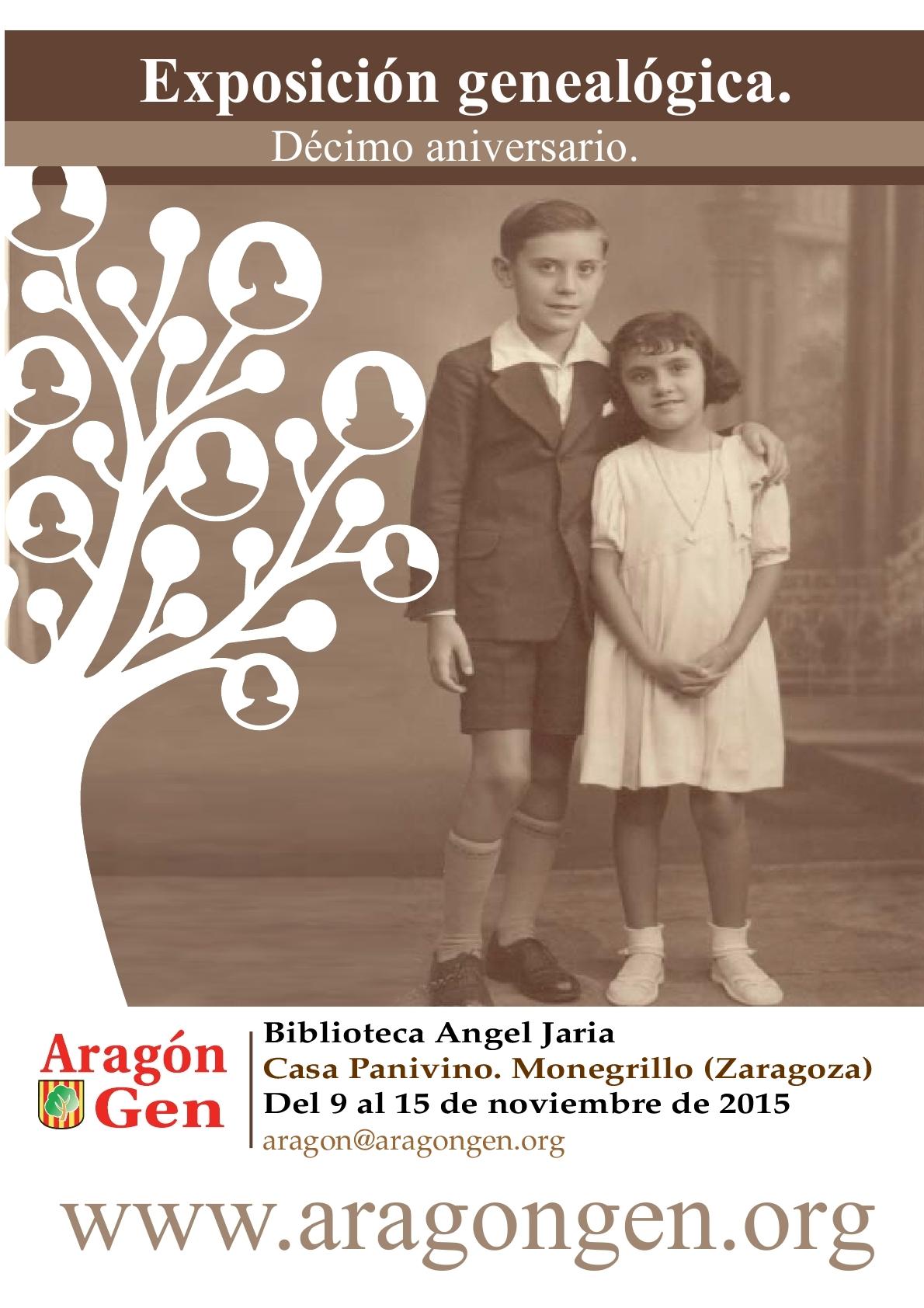 Cartel exposición Monegrillo