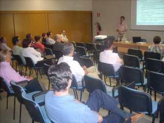 Presentación de Antonio Emperador sobre el proyecto de volcado de Censos en Aragón