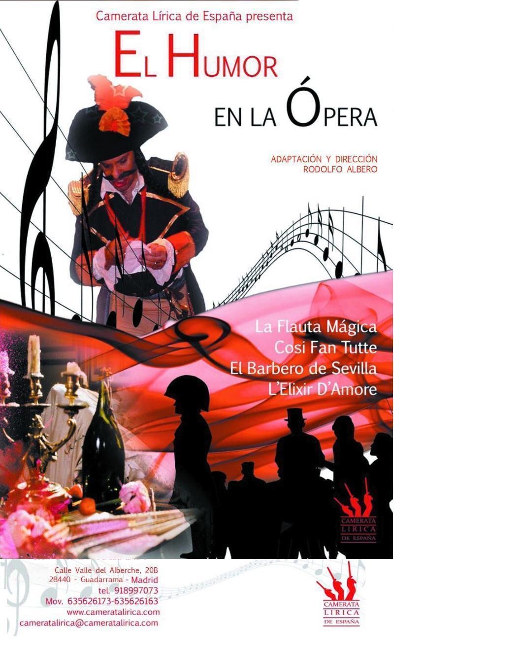 El humor en la opera