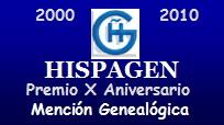 Premio Mención Genealógica 2010 de Hispagen